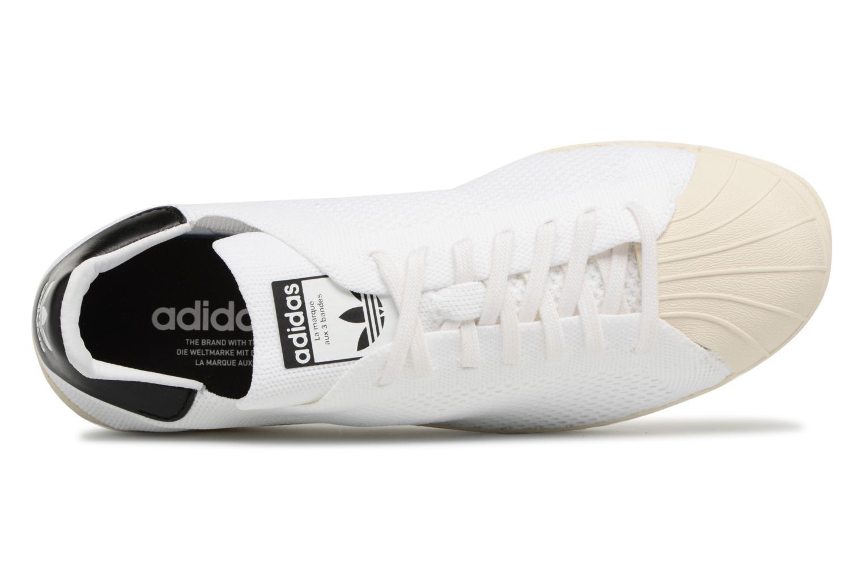 Baskets Adidas Originals Superstar 80S Pk Blanc vue gauche