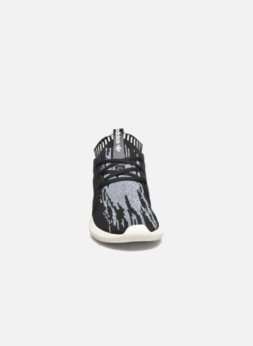 Baskets adidas originals Tubular Defiantpk W Noir vue portées chaussures