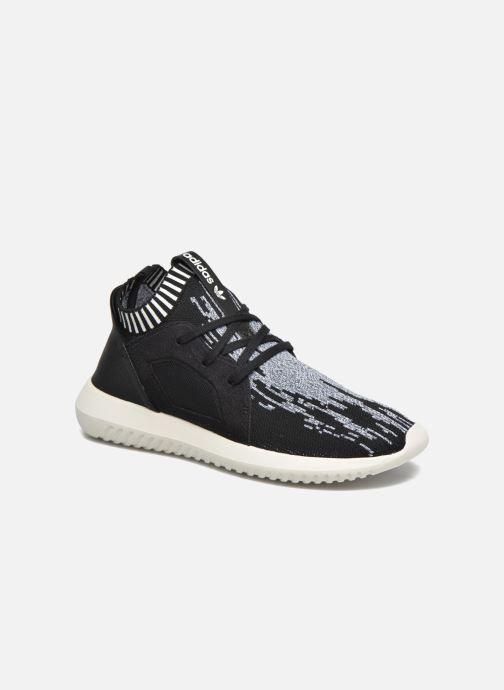 Baskets adidas originals Tubular Defiantpk W Noir vue détail/paire