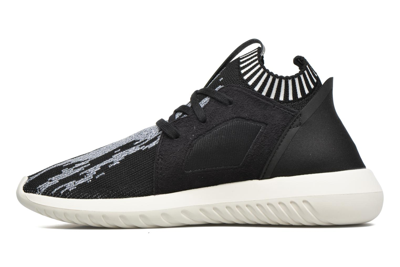 Baskets Adidas Originals Tubular Defiantpk W Noir vue face
