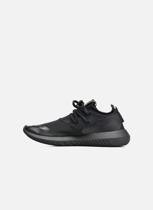 Sneakers adidas originals Tubular Entrap W Zwart voorkant
