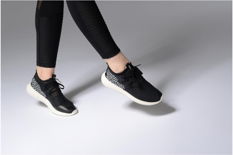 Baskets Adidas Originals Tubular Entrap W Noir vue bas / vue portée sac