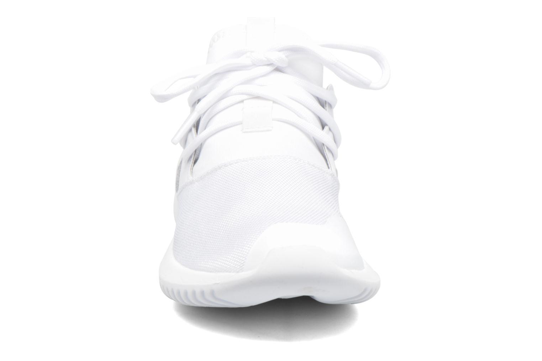 Baskets Adidas Originals Tubular Entrap W Blanc vue portées chaussures