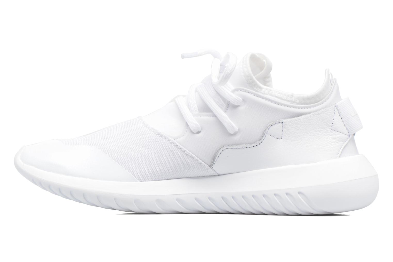 Baskets Adidas Originals Tubular Entrap W Blanc vue face