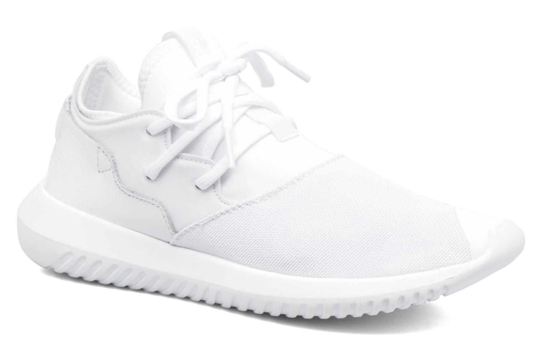 Baskets Adidas Originals Tubular Entrap W Blanc vue détail/paire