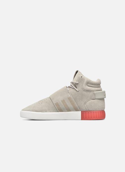 Sneakers adidas originals Tubular Invader Strap Grijs voorkant