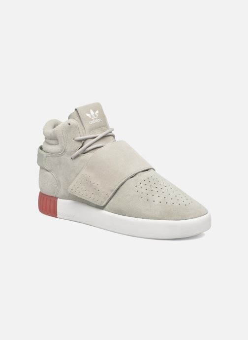 Sneakers adidas originals Tubular Invader Strap Grijs detail