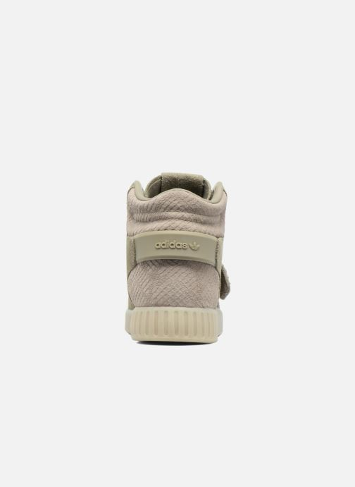 Trainers adidas originals Tubular Invader Strap Green view from the right