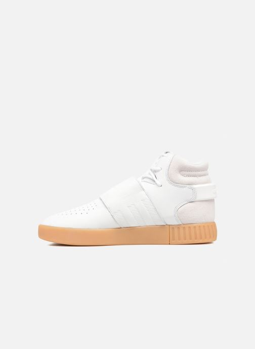 Adidas Originals Tubular Invader Strap (Gris) Baskets chez