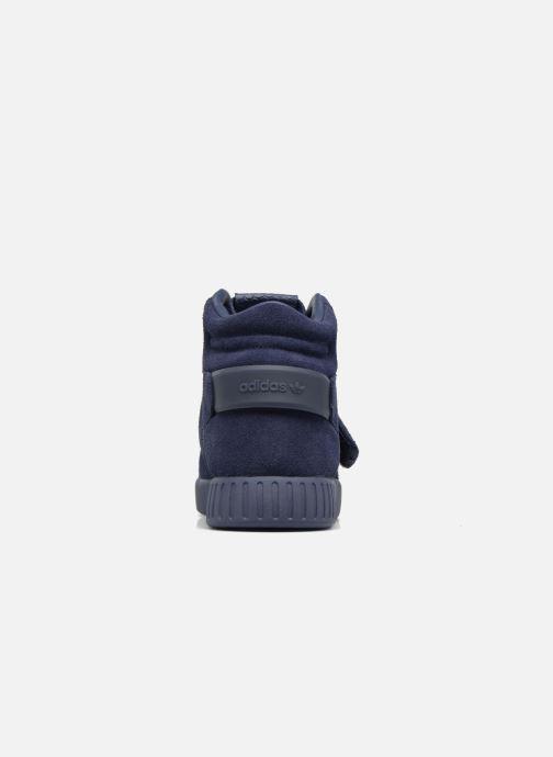 Deportivas adidas originals Tubular Invader Strap Azul vista lateral derecha