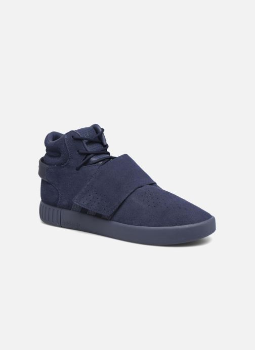 Baskets adidas originals Tubular Invader Strap Bleu vue détail/paire
