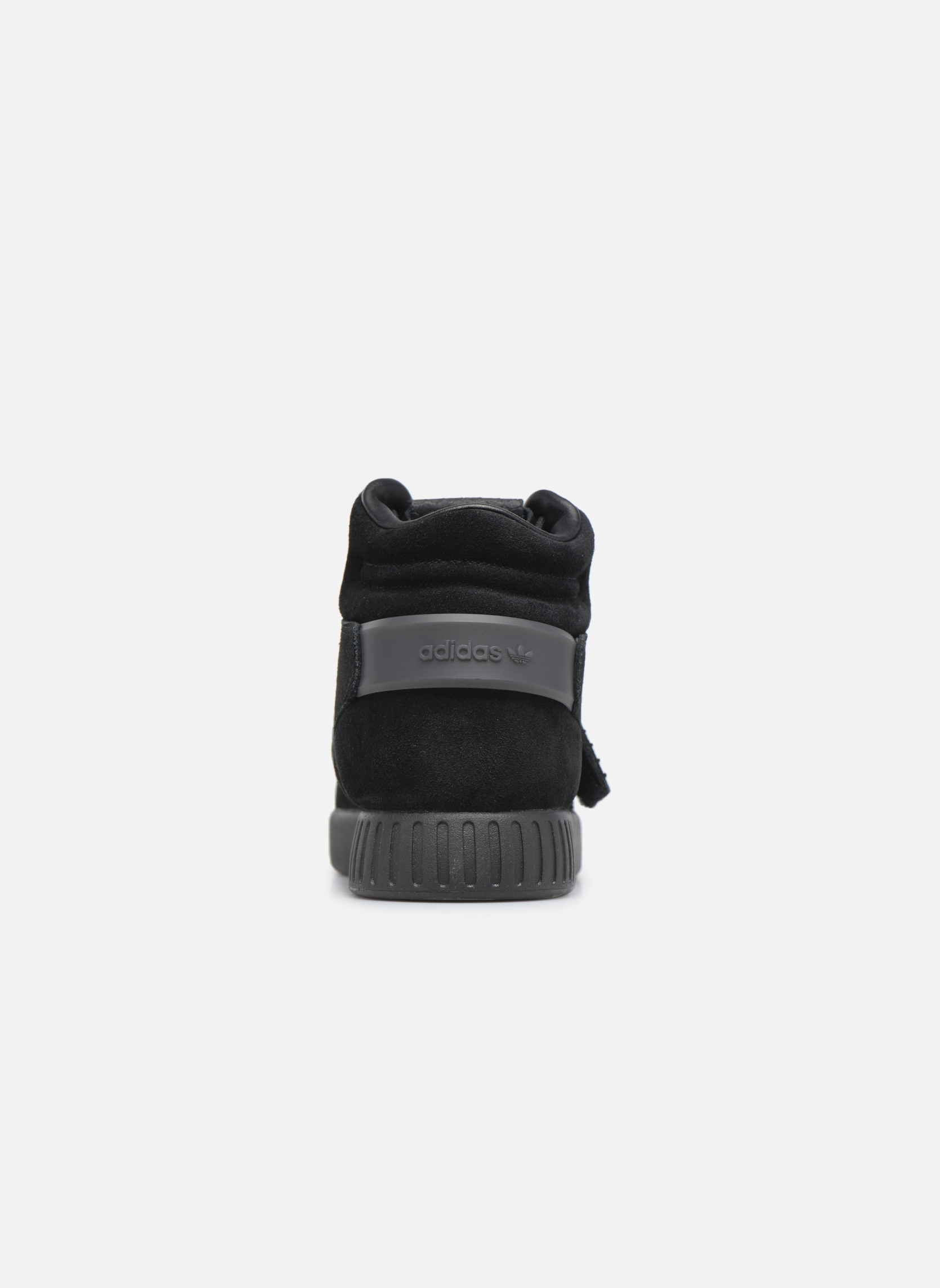 Baskets Adidas Originals Tubular Invader Strap Noir vue droite
