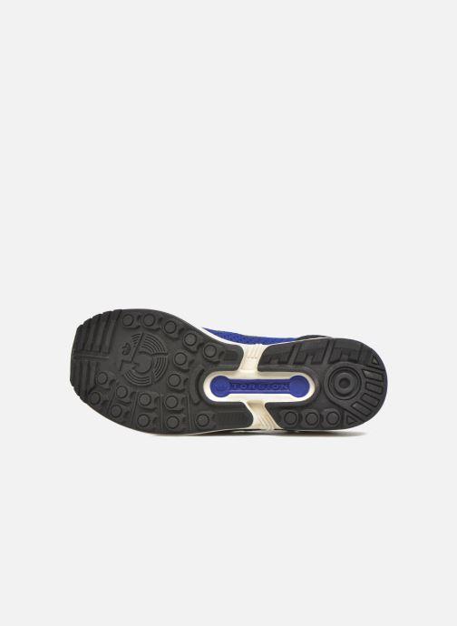 Baskets adidas originals Zx Flux Pk Bleu vue haut
