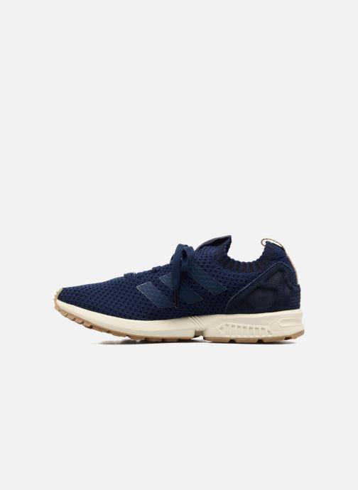 Trainers adidas originals Zx Flux Pk Blue front view