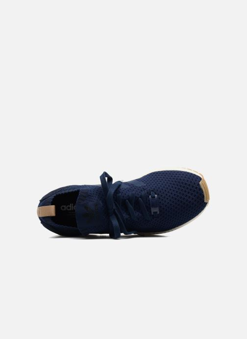 Trainers adidas originals Zx Flux Pk Blue view from the left