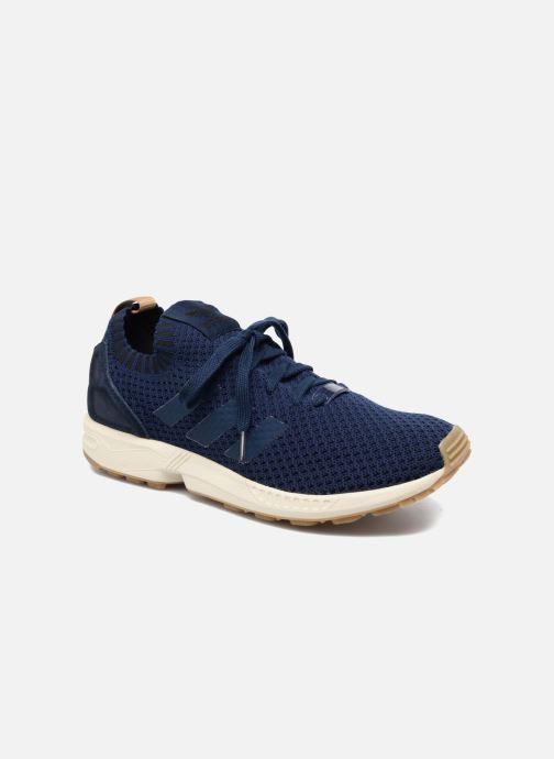 Trainers adidas originals Zx Flux Pk Blue detailed view/ Pair view