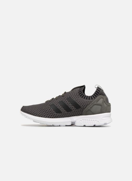 Trainers adidas originals Zx Flux Pk Grey front view