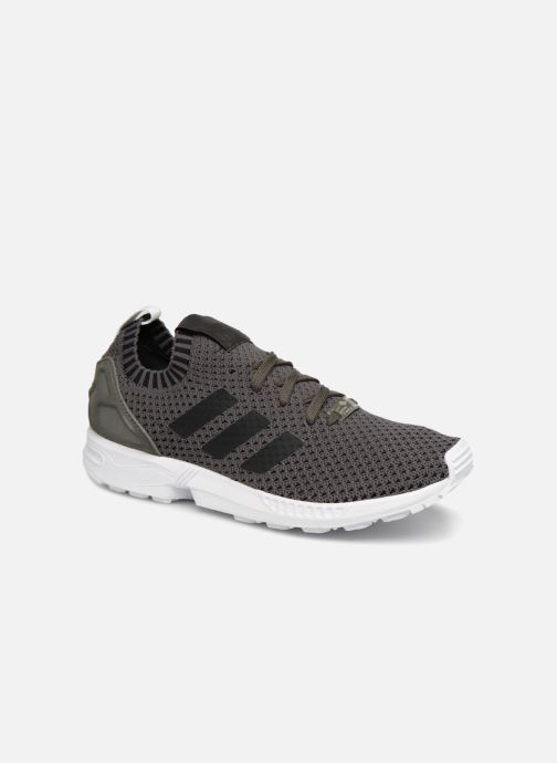 Trainers adidas originals Zx Flux Pk Grey detailed view/ Pair view