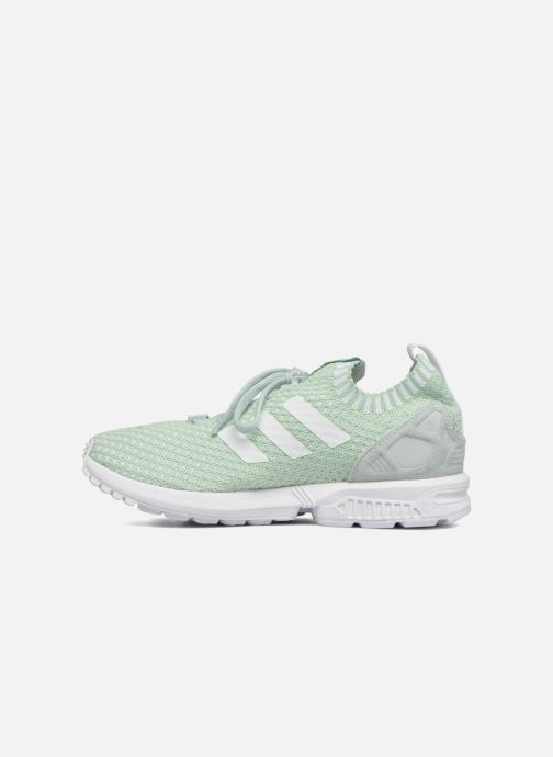 Baskets adidas originals Zx Flux Pk W Vert vue face