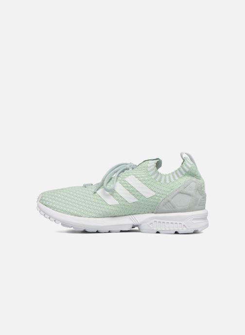 Sneakers adidas originals Zx Flux Pk W Groen voorkant