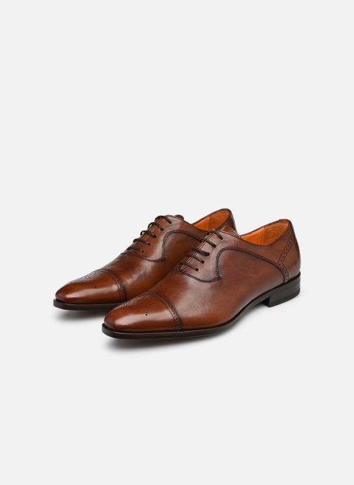 Lace-up shoes Marvin&Co Luxe Pemou - Cousu Blake Brown view from underneath / model view