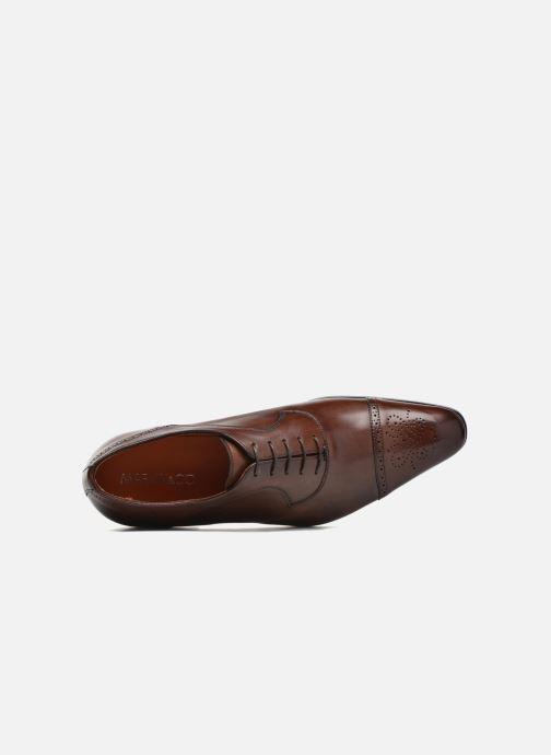 Zapatos con cordones Marvin&Co Luxe Pemou - Cousu Blake Marrón vista lateral izquierda