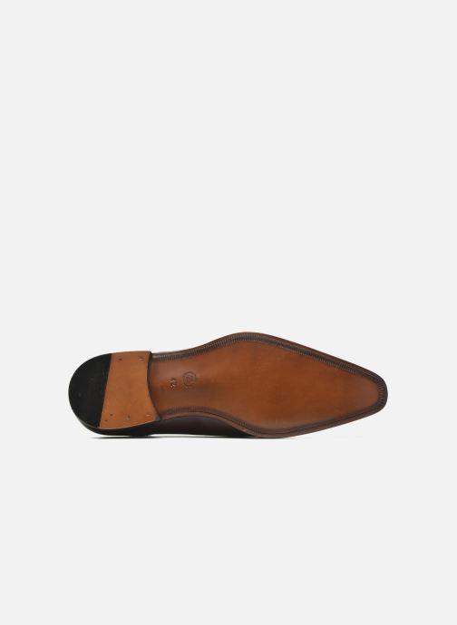 Zapatos con cordones Marvin&Co Luxe Pemou - Cousu Blake Marrón vista de arriba