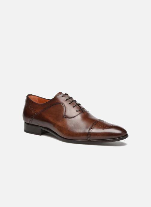 Chaussures à lacets Marvin&Co Luxe Pemou - Cousu Blake Marron vue détail/paire