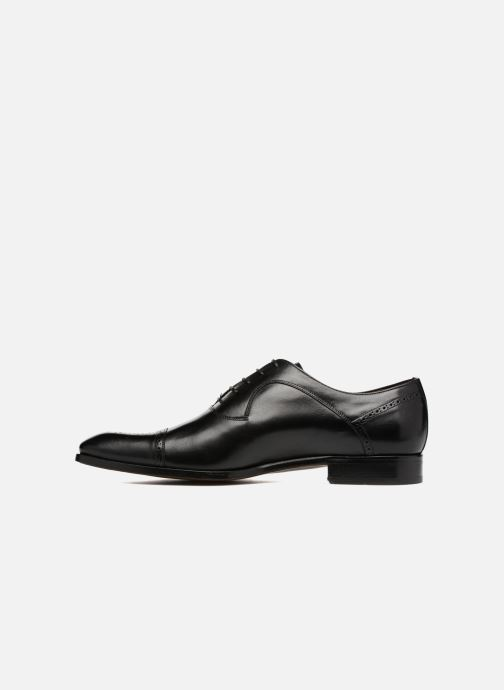 Lace-up shoes Marvin&Co Luxe Pemou - Cousu Blake Black front view