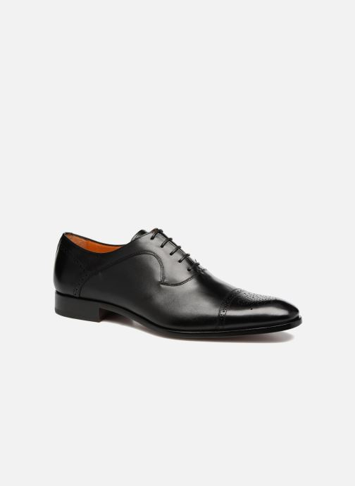 Lace-up shoes Marvin&Co Luxe Pemou - Cousu Blake Black detailed view/ Pair view