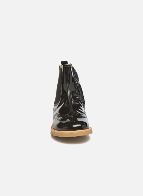 Bottines et boots Young Soles Francis Noir vue portées chaussures