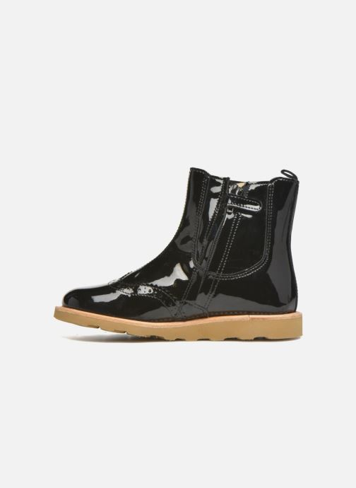 Bottines et boots Young Soles Francis Noir vue face