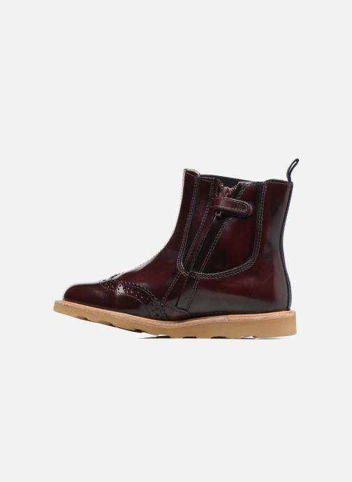 Bottines et boots Young Soles Francis Bordeaux vue face