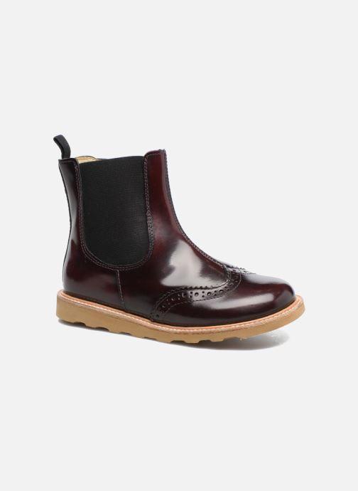Bottines et boots Young Soles Francis Bordeaux vue détail/paire