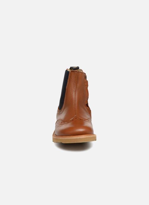 Bottines et boots Young Soles Francis Marron vue portées chaussures