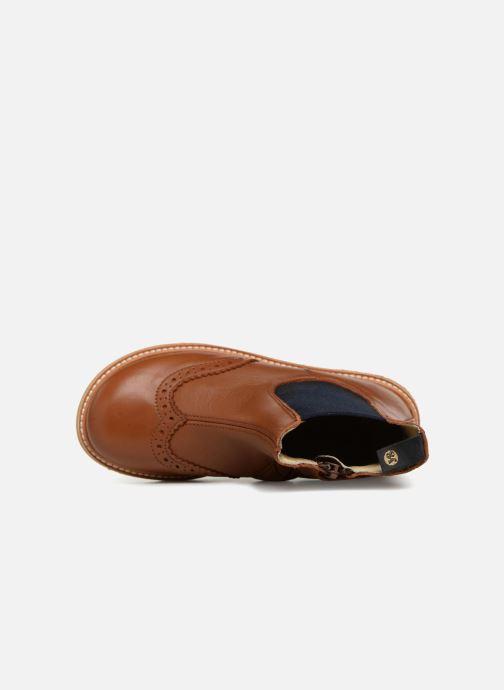 Bottines et boots Young Soles Francis Marron vue gauche
