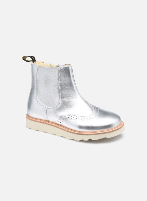 Bottines et boots Young Soles Francis Argent vue détail/paire