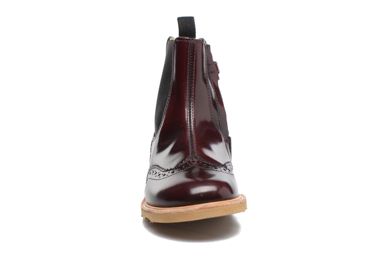 Bottines et boots Young Soles Francis Bordeaux vue portées chaussures