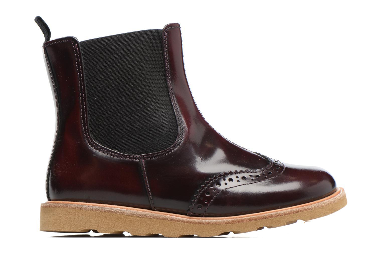 Bottines et boots Young Soles Francis Bordeaux vue derrière