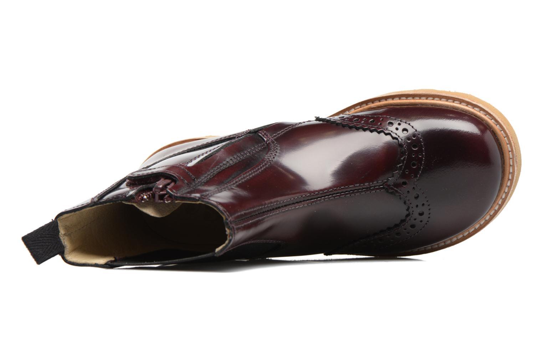 Bottines et boots Young Soles Francis Bordeaux vue gauche