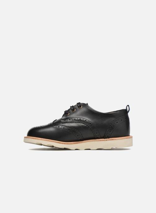Zapatos con cordones Young Soles Brando Negro vista de frente