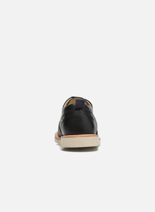 Zapatos con cordones Young Soles Brando Negro vista lateral derecha
