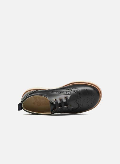 Zapatos con cordones Young Soles Brando Negro vista lateral izquierda