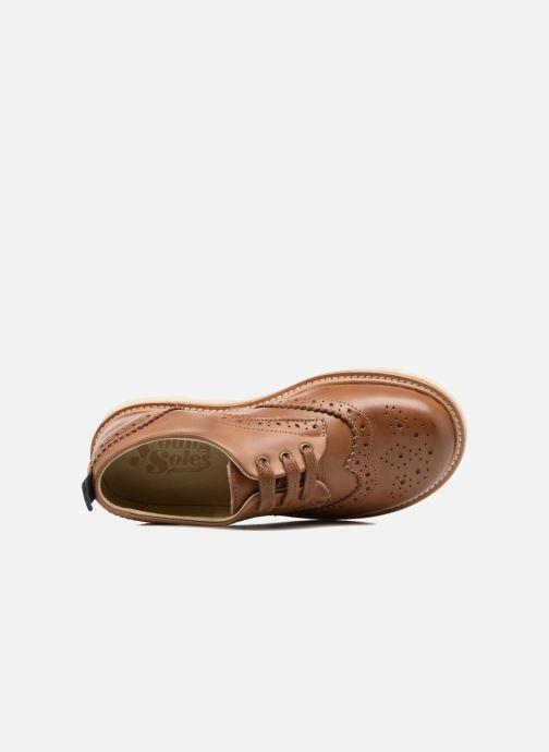 Zapatos con cordones Young Soles Brando Marrón vista lateral izquierda
