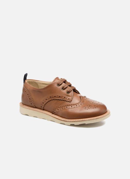 Zapatos con cordones Young Soles Brando Marrón vista de detalle / par