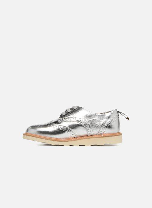 Chaussures à lacets Young Soles Brando Argent vue face