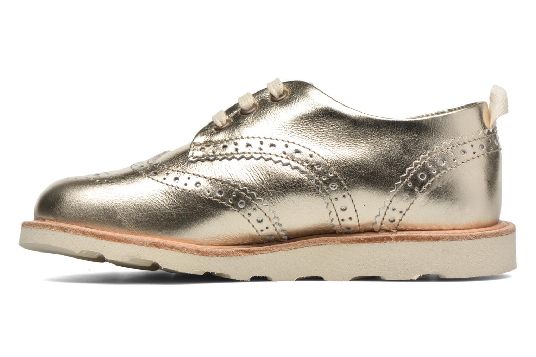Chaussures à lacets Young Soles Brando Or et bronze vue face
