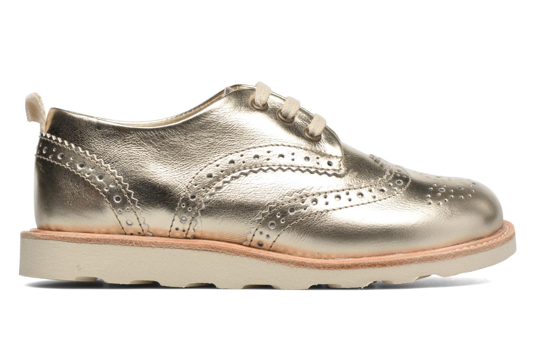 Chaussures à lacets Young Soles Brando Or et bronze vue derrière