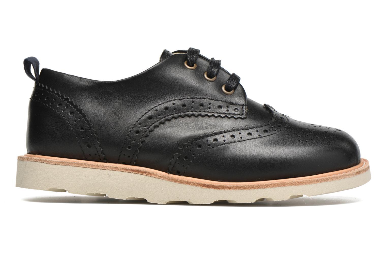 Chaussures à lacets Young Soles Brando Noir vue derrière