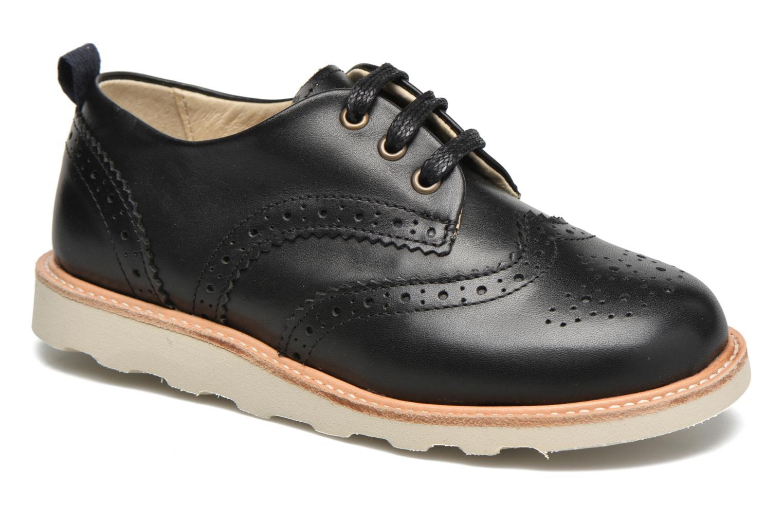 Chaussures à lacets Young Soles Brando Noir vue détail/paire